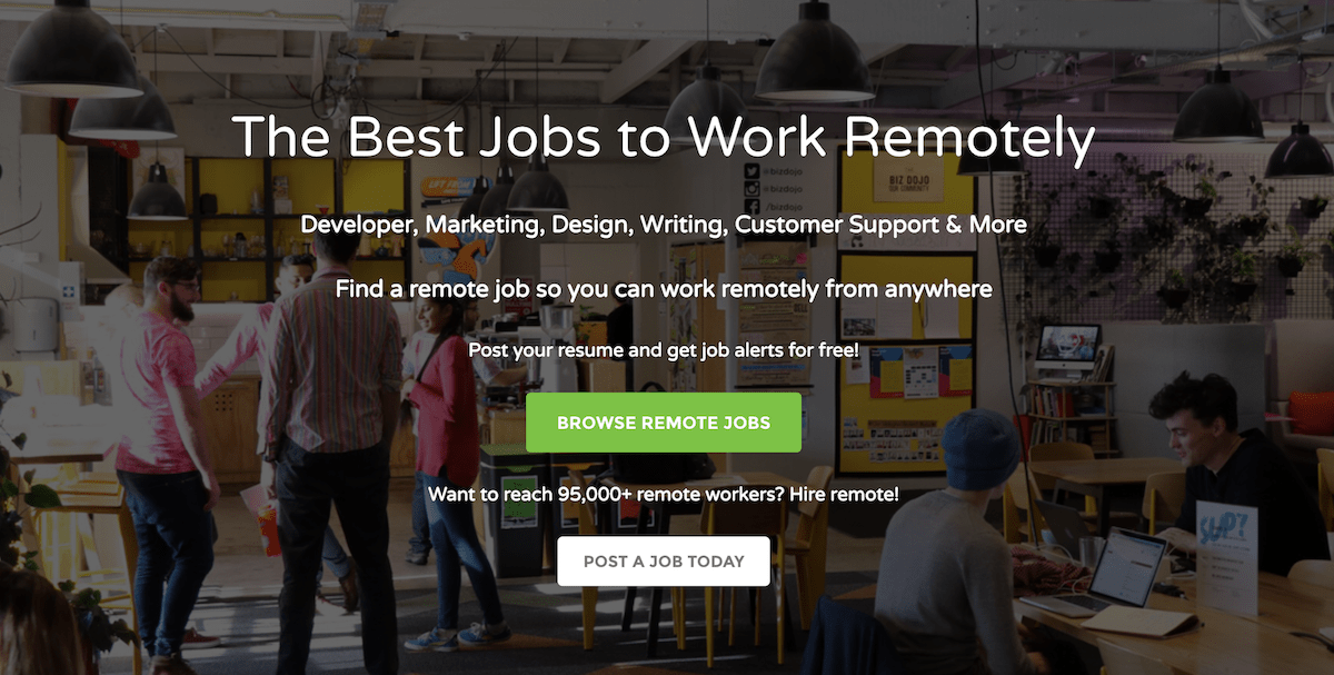 Remote Jobs: Customer Service, Marketing, Designer | Workew